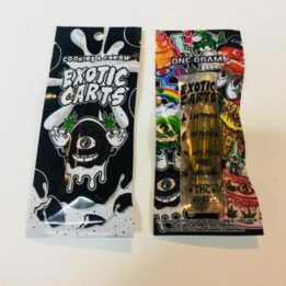 Exotic Carts Cookies and Cream